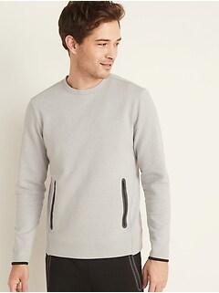 Dynamic Fleece Zip-Pocket Sweatshirt for Men