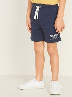 Logo-Graphic Jogger Shorts for Toddler Boys