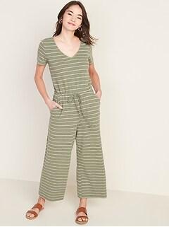 Combinaison à taille définie en tricot bouclé pour femme