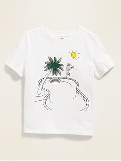 Graphic Short-Sleeve Tee for Toddler Boys