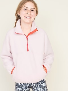 Sherpa 1/2-Zip Pullover for Girls