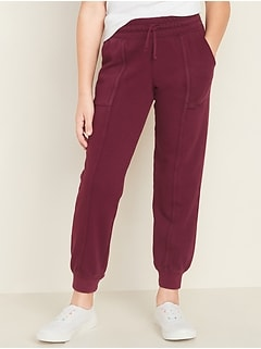 Garment-Dyed French Terry Utility Street Joggers for Girls