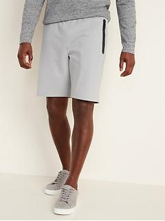 Short d'entraînement en molleton dynamique pour homme, 23cm