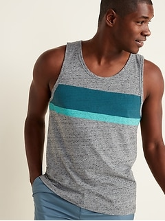 Soft-Washed Jersey Tank Top for Men