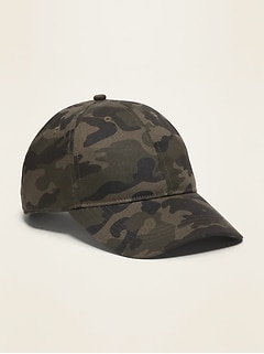 Twill Baseball Cap for Men