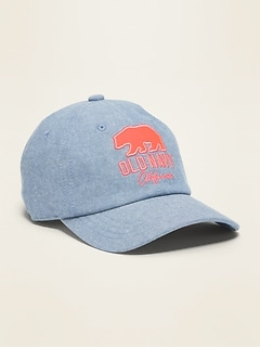 Logo-Graphic Baseball Cap for Girls