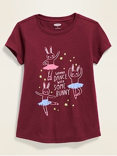 Graphic Short-Sleeve Tee for Toddler Girls