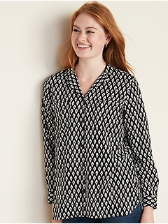 Relaxed Utility Shirt for Women