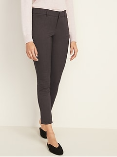 High-Waisted Pixie Never-Fade Ankle Pants for Women