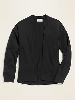 Oversized Open-Front Sweater for Girls