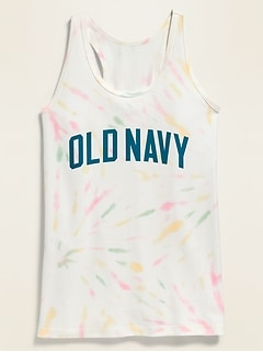 Logo-Graphic Racerback Tank Top for Girls