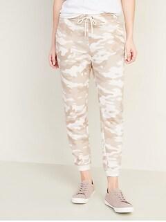 Pantalon d'entraînement en jersey bouclette pour femme