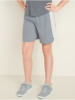 Go-Dry Mesh Sports Shorts for Girls