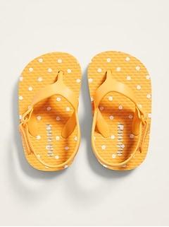 Sandales de plage avec bride à velcro pour bébé