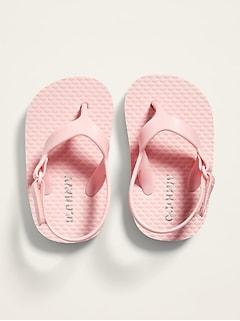 Secure-Strap Flip-Flops for Baby