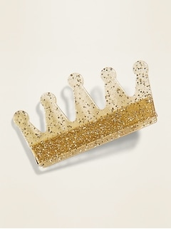 Crown Hair Clip for Girls