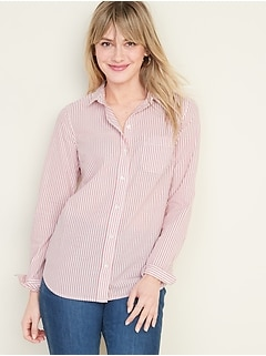 Classic Patterned Shirt for Women