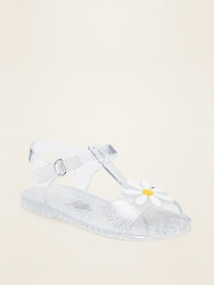 Jelly T-Strap Sandals for Toddler Girls