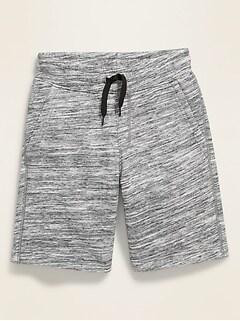 Drawstring-Waist Jogger Shorts for Boys