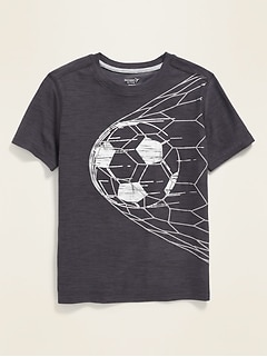 Ultra-Soft Breathe ON Graphic Performance Tee for Boys