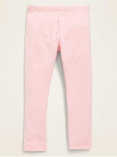 Jersey Leggings for Toddler Girls