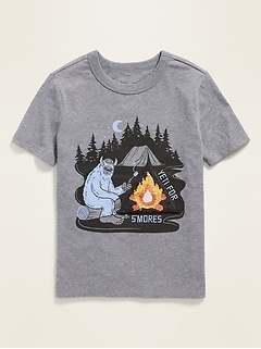 Visual-Effects Graphic Short-Sleeve Tee for Boys