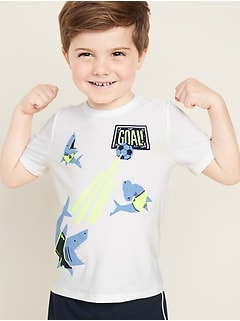 Graphic Moisture-Wicking Tee for Toddler Boys