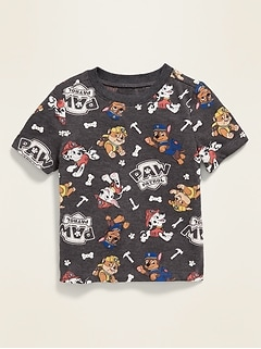 Paw Patrol™ Printed Graphic Tee for Toddler Boys