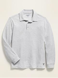 Moisture-Wicking Uniform Polo for Boys