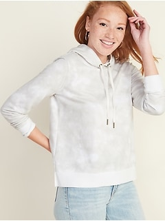 Relaxed Vintage Pullover Hoodie for Women