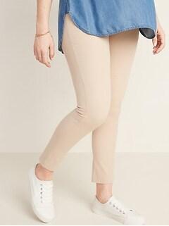 Maternity Full-Panel Pixie Pants