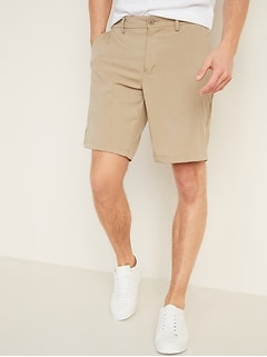 Slim Go-Dry Shade StretchTech Shorts for Men -- 10-inch inseam
