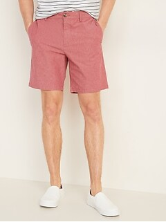 Slim Ultimate Chambray Shorts for Men -- 8-inch inseam