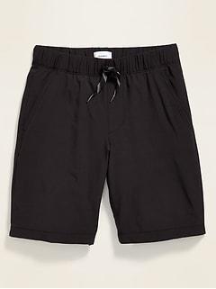 Built-In Flex Tech Jogger Shorts for Boys