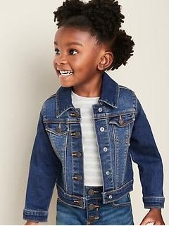 Unisex Stretch Jean Jacket for Toddler