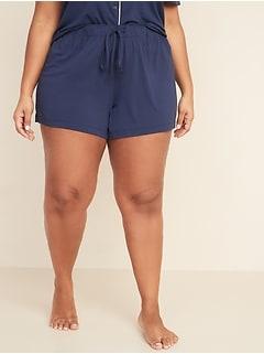 Short de pyjama en jersey, entrejambe de 11,5cm