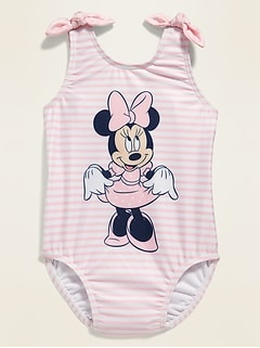 Disney© Minnie Mouse One-Piece Swimsuit for Toddler Girls