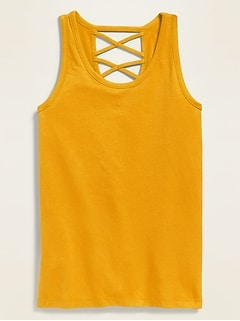 Strappy-Back Tank for Girls