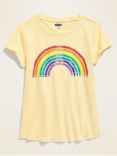 Graphic Short-Sleeve Tee for Toddler Girls