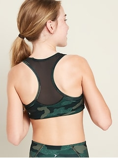 Printed Go-Dry Sports Bra for Girls