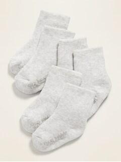 Unisex Crew Socks 3-Pack for Baby