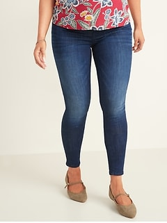 Maternity Premium Full Panel Rockstar Super Skinny Jeans