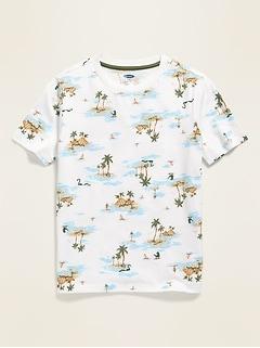 T-shirt à imprimé Le plus doux pour garçon