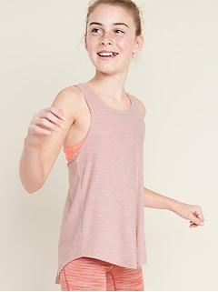 Camisole soutien-gorge 2en1 Breathe ON ultra douce pour fille