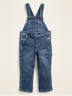 Relaxed Painter Jean Overalls for Toddler Boys