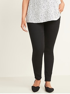 Maternity Full-Panel Black Skinny Jeans