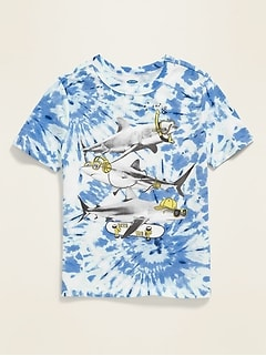 Graphic Short-Sleeve Tee for Boys