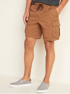 Cargo Jogger Shorts for Men - 9-inch inseam