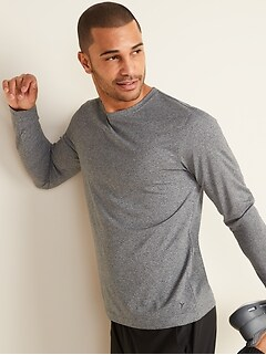 Go-Dry Cool Odor-Control Core Long-Sleeve Tee for Men