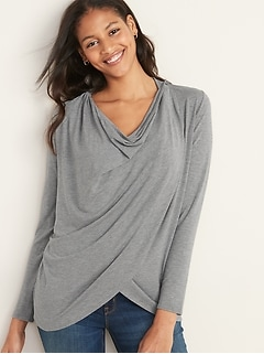 Maternity Open-Front Nursing Cardigan
